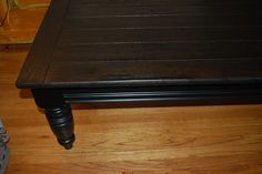 Refinish Coffee Table - i actually liked it better with the green legs