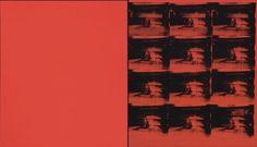 (モダンアートの無 十選)(2)アンディ・ウォーホル「赤の惨事」 美術評論家 沢山遼 :日本経済新聞