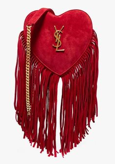 """""""Be still my heart—literally. I can't imagine my fall wardrobe without this incredibly wonderful, crimson cross-body."""""""