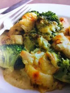 Easy crockpot recipes: Cheesy Chicken and Broccoli Crockpot Recipe