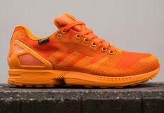 "adidas Originals ZX Flux Weave Gore-Tex ""Orange"" - SneakerNews.com"