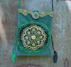 Lace Bag, by ZAmirteTextiles