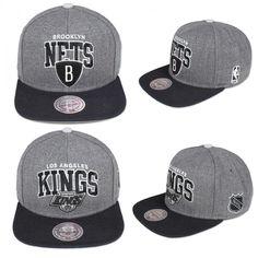 ead1ccd3b11 Mitchell   Ness Snapback LA Kings   Nets Snapback Unisex NY Ness Top  Baseball Cap