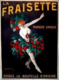 la fraisette / leonetto cappiello / 1909