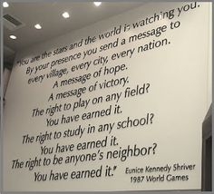 Quote from Eunice Kennedy Shriver