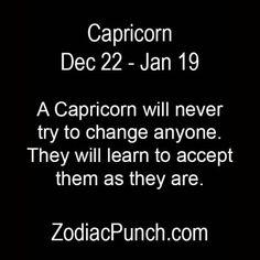 A Capricorn will never.... | ZodiacPunch.com