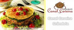 """Receita da Semana: """"Pudim de Crepes""""...pode visualizar em: http://www.gastronomias.com/receitas/rec2160.htm"""