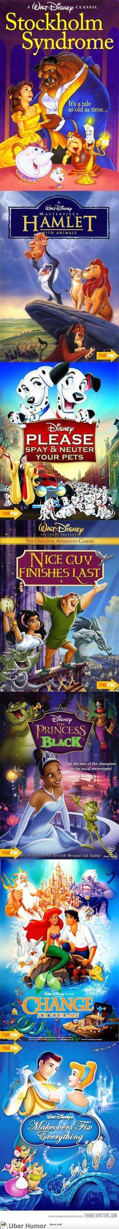 If Disney films had honest titles