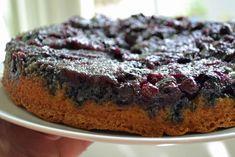 Maple Blueberry Upside Down Buttermilk Cake - yes please.
