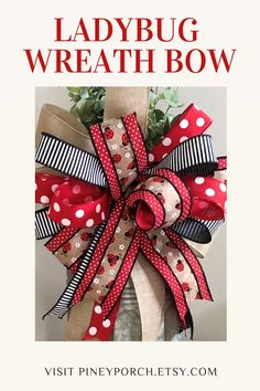 Everyday Wreath Kit with a premade bow