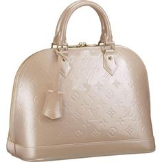 Alma PM [Model: M91614 Color: Pink Material: Monogram Vernis Size: 12.8 x 9.4 x 6 ] - $235.99 : Louis Vuitton Handbags,Louis Vuitton Bags,Cheap Louis Vuitton