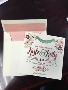 Can't stop staring at our Save the Dates! Gettin real, folks... - Album on Imgur