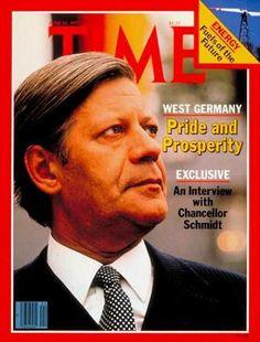Helmut Schmidt bleibt für mich der beste deutsche Politiker. Sogar das Time Magazin lässt eine eindeutig stolze Geste des Bundeskanzlers zu. Was für ein Erfolg für den Alt-Bundeskanzler.