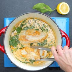 Lemon Butter Chicken Pasta - Twisted