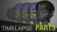 Sergi Caballer - Facial Modeling Timelapse 3/3 - FINAL MODELING on Vimeo