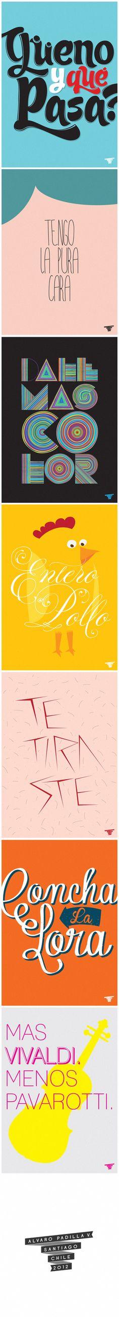 Afiches Flaites by Alvaro Padilla V.