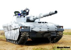The CV90120-T Light Tank of Sweden based on the CV-90 Chassis.