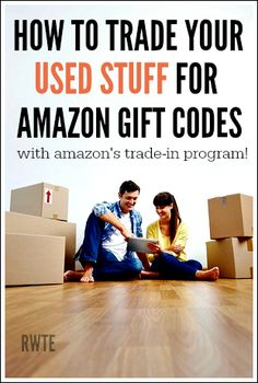 Do you have used stuff you need to de-clutter in your house? Make Money From Home, Way To Make Money, Make Money Online, Amazon Rewards Card, Online Trading, Budgeting Money, Amazon Gifts, Money Matters, Ways To Save