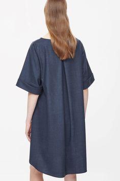 COS | Kimono sleeve wool dress