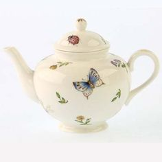 The Twiggery - Tea Party - dragonfly and ladybug teapot