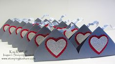 Stamping to Share: 2/14 Good Luck Kiss Valentine Favors to the Concordia Dance Team!