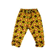 Pants FLOWERS SUN – Pan Pantaloni Summer Tribes 2015 collection for kids, light cotton pants. #fashion #kids #natural #summer #grandbazaar