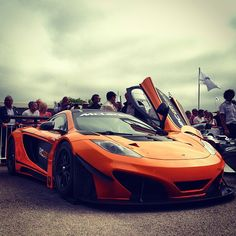 McLaren MP4-12C GT Orange wonder!