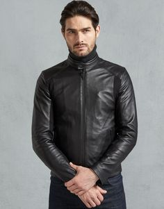 Further detailing includes a rubberised Belstaff x McLaren patch on the left sleeve and tonal identification on the rear hem. Note:Jacket Length is equal to Sleeve Length. Sheep Leather, Leather Men, Leather Jackets, Pink Leather, Plus Clothing, Mens Clothing Styles, Belstaff Jackets, Leather Fashion, Mens Fashion