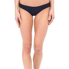 Vix Buzios Brazilian Bottom (Solid Indigo) Women's Swimwear ($34) ❤ liked on Polyvore featuring swimwear, bikinis, bikini bottoms, blue, brazilian cut bikini, blue bikini bottoms, brazilian bikini bottoms, brazilian bottom bikini and brazilian cut bikini bottoms