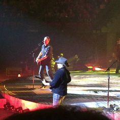 Blake Shelton performed on Thursday at Pinnacle Bank Arena