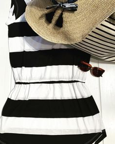 Be a striped goddess in the sun. // Mercer http://mercerstore.com/