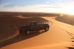 ISUZU D-Max reportage in the Morrocan desert