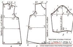 Инструкция о том как создаются выкройки детских платьев своими руками.   Самая актуальная информация по рукоделию - на svoimi-rukami-club.ru