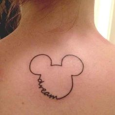 I absolutely love the dream Mickey tattoo.some inspiration for my Disney tattoo! Subtle Tattoos, Small Tattoos, Cool Tattoos, Tatoos, Funny Tattoos, Family Tattoos, Temporary Tattoos, Print Tattoos, Disney Tattoo Design