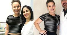 A ex-BBB Maria Cláudia, que ficou conhecida como Cacau durante o reality show, está com a silhueta m...