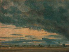 John Constable - Cloud Study, ca. 1821