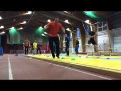 ▶ Lasten näköistä hyppelyharjoittelua - YouTube