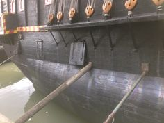 Hull view of the Golden Hinde 2 Golden Hind, Sailing, Age, Candle