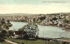 Bridgewater Nova Scotia Canada Postcard C1912 | eBay