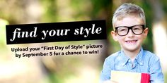 "Do your kids have their outfits picked out for next week's first day back at school? Share your ""First Day of Style"" photo for a chance to win a FREE iPad from Deer Park Town Center... http://wp.me/p1NGbX-12pX"