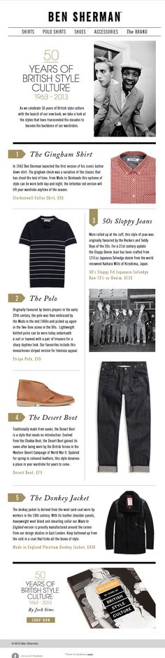 british clothing history - menswear