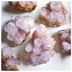 To sleep in or get up for brunch? Decisions that put you between a R O C K and a hard place. Crystals Minerals, Rocks And Minerals, Crystals And Gemstones, Stones And Crystals, Crystal Magic, Crystal Healing, Crystal Aesthetic, Spirit Quartz, Cool Rocks