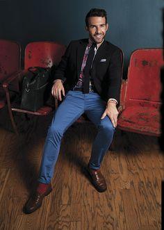 Me gusta el #look de Carlos Huber @QuecnQue