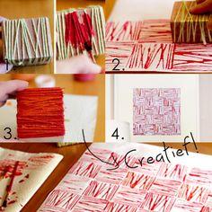 Creatief met restjes garen! DIY