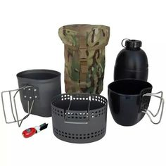 Crusader II Cooking System with the Issue 58 Pattern Osprey Bottle
