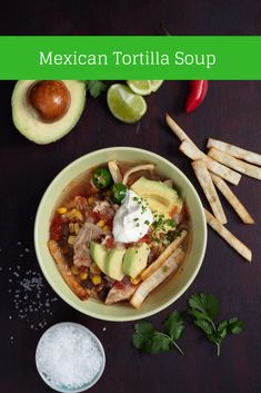 This soup recipe has spice, heat and crunch. This Mexican dish is a firm winter favourite.