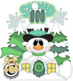Snowed In - Treasure Box Designs Patterns & Cutting Files (SVG,WPC,GSD,DXF,AI,JPEG)