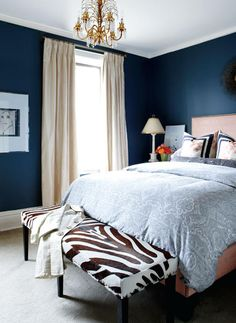 10 Stunning Blue Bedrooms You Will Love | Discover more: masterbedroomideas.eu