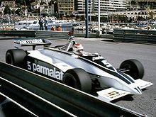 Nelson Piquet in a Brabham-BMW at the 1981 Monaco Grand Prix. F1 Racing, Racing Team, Ford, Bmw Turbo, Win Car, Italian Grand Prix, F1 Motor, Formula 1 Car, Monaco Grand Prix