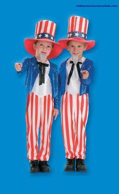 UNCLE SAM CHILD COSTUME  #patrioticcostumes #patriotic